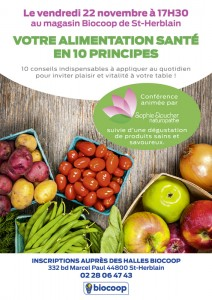 Votre alimentation santé en 10 principes